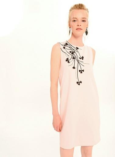 Nakış Detaylı Elbise-People By Fabrika